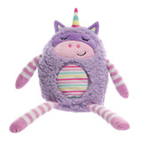 Aroma Home Unicorn Hug a Snug Hottie Microwavable Toy