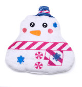 Let it Snow Snowman Festive Funky Hottie Mini Heat Pack