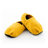 Mustard Warm Hug Feet Unscented Microwavable Slippers