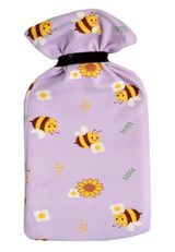 Buzzy Bees Lilac Cotton Cover 2L Hot Water Bottle