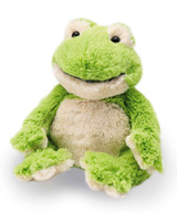 Warmies Cozy Plush Frog Fully Microwavable Toy