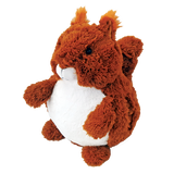Cozytime Red Squirrel Fluffy Faux Fur Giant Hand Warmer