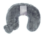 Steel Grey Cosy Faux Fur 2L Curved Neck Hot Water Bottle