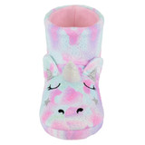 Girls Dreamy Unicorn Sparkly Fleece 3D Slipper Boots