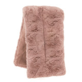 Pink Faux Fur Scented Microwavable Body Wrap