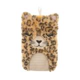 Leopard Love 1L Novelty Cover Hot Water Bottle