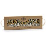 Night Leopard Calico Cotton Lavender Wheat Bag