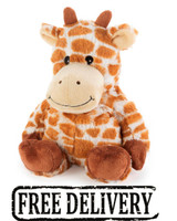 Intelex Cozy Plush Fully Microwavable Toy: Giraffe