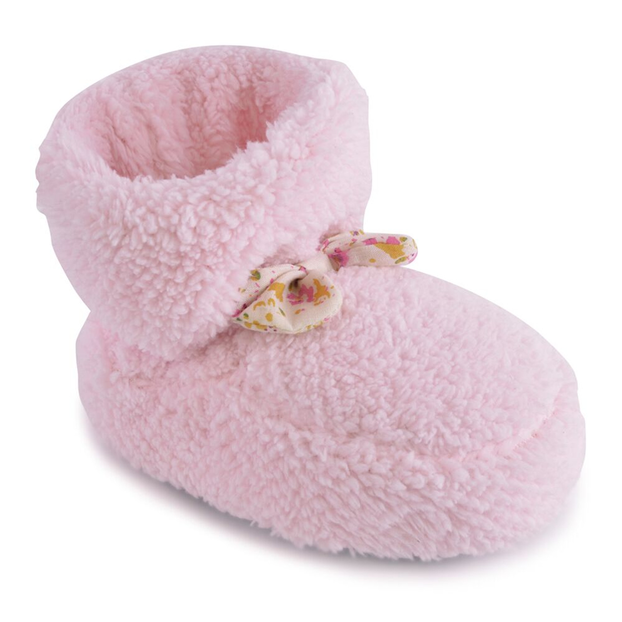 Girls Small Kids Ankle Bootee Novelty Claw Slippers Pink