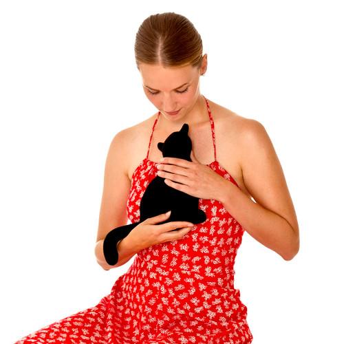 Minina the Cat Heatable Tummy & Body Warmer Pillow