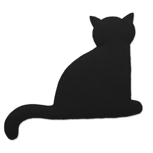 Black Minina Cat Heatable Tummy & Body Warmer Pillow