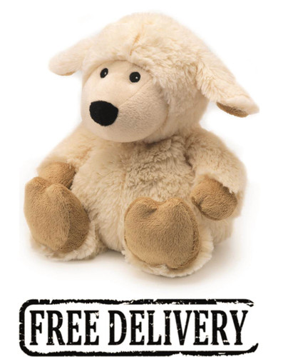 Intelex Cozy Plush Fully Microwavable Toy: Sheep