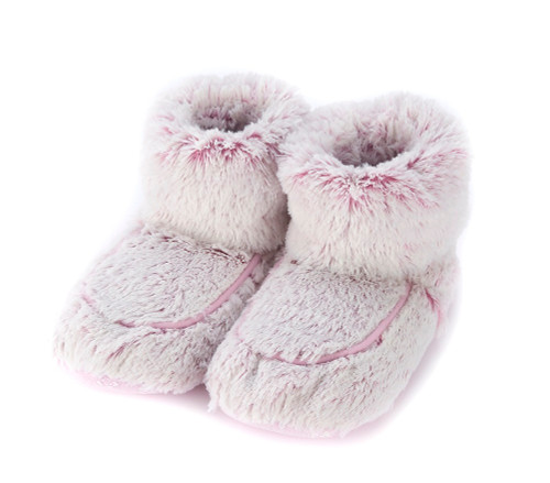 374d58a23 Warmies Cozy Body Pink Marshmallow Fur Microwavable Boots