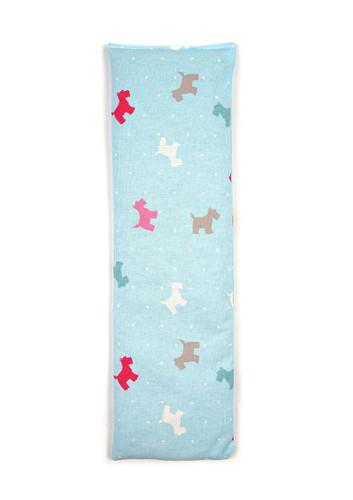 Alfie Blue Westie Dogs 100% Natural Cotton Wheat Bag