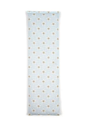 Pale Blue Multi Stars 100% Natural Cotton Wheat Bag