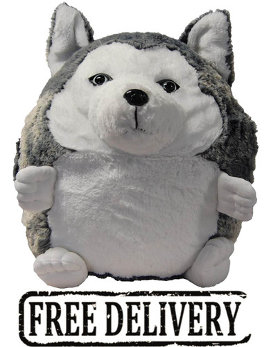 Cozytime Husky Fluffy Faux Fur Giant Hand Warmer