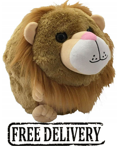 Cozytime Lion Fluffy Faux Fur Giant Hand Warmer