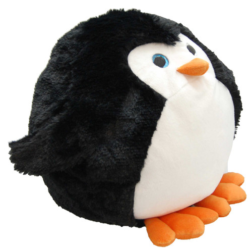 Cozytime Penguin Fluffy Faux Fur Giant Hand Warmer