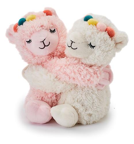 Warmies Cozy Plush Warm Hugs Llamas Mini Fully Microwavable Toys