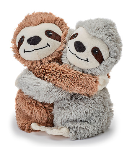 Warmies Cozy Plush Warm Hugs Sloths Mini Fully Microwavable Toys