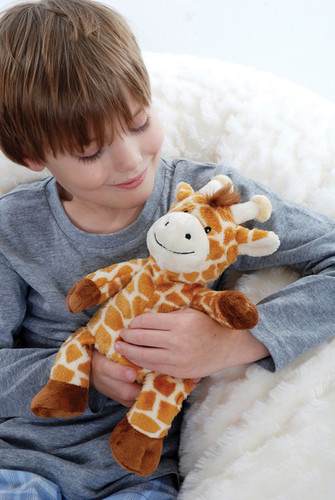 Cozy Plush Microwavable Giraffe
