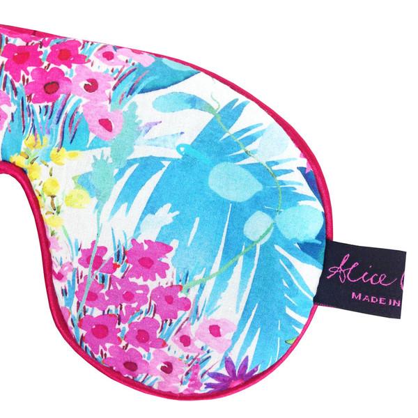 Tresco Lagoon Liberty™ Print Cotton Padded Eye Mask