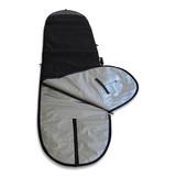 Alies black longboard surfboard bag mal cover