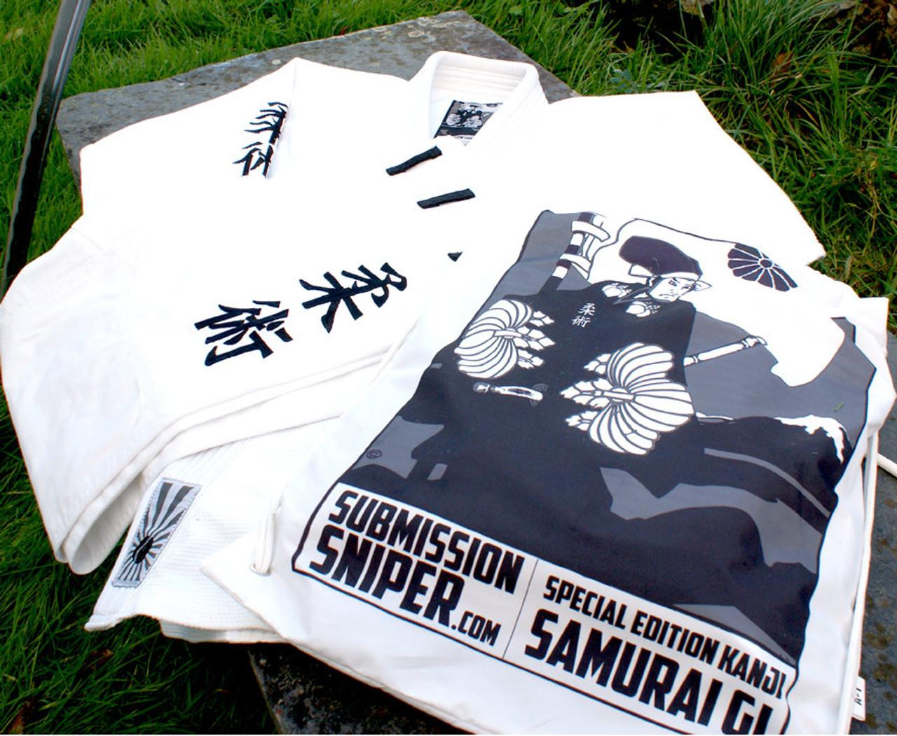 Special Edition KANJI Samurai, BJJ Gi, Ju Jitsu Gi, Kimono