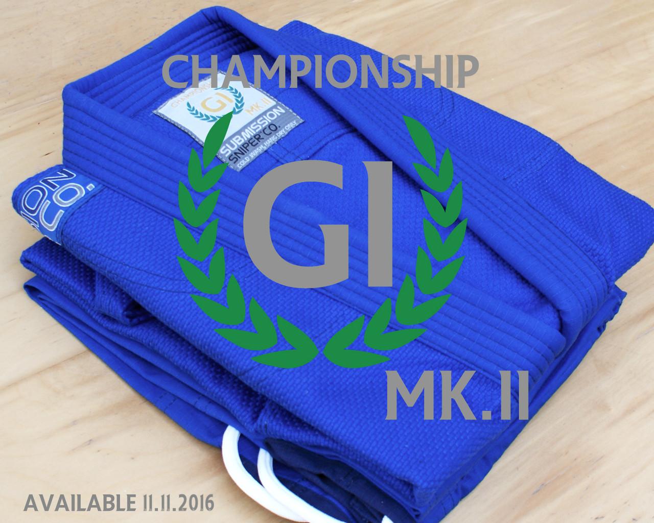 Championship PRO Standard BJJ GI