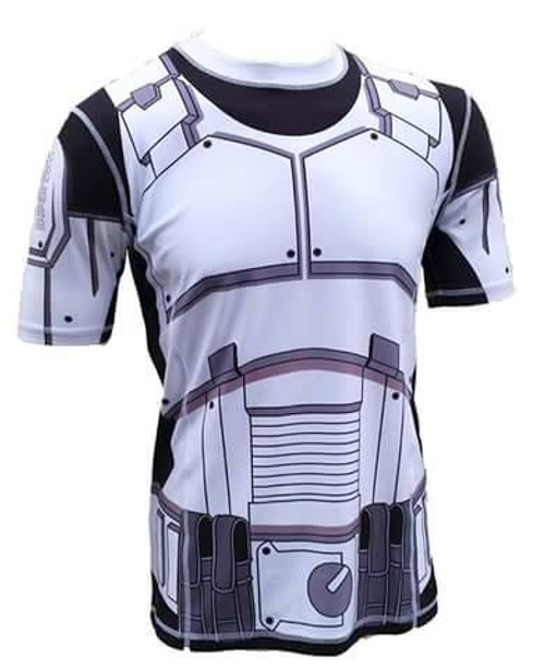 """Star Trooper""  Rash Guard, BJJ MMA"