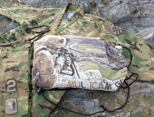 """ Multicam"" Limited Camouflage BJJ GI, Black Ops Design #4"