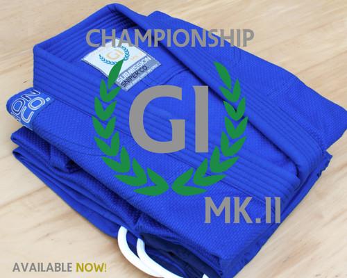 "Women's Blue ""Championship"" MK.II  BJJ  GI"