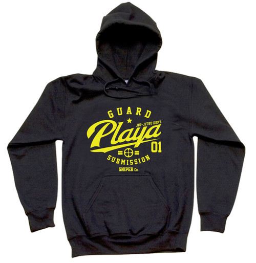 Sniper Guard Playa Hoodie (Available in Blue and Black)
