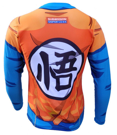 Dragon Ballz Rash Guard, BJJ, MMA, Sports