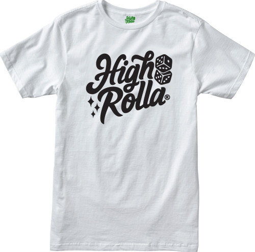 High Rolla Brand T-shirt (White)