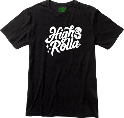 High Rolla Brand T-shirt (Black)