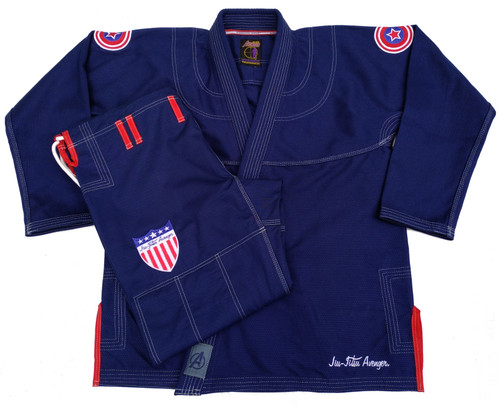 "Navy ""Jiu Jitsu Avenger"" BJJ Gi"