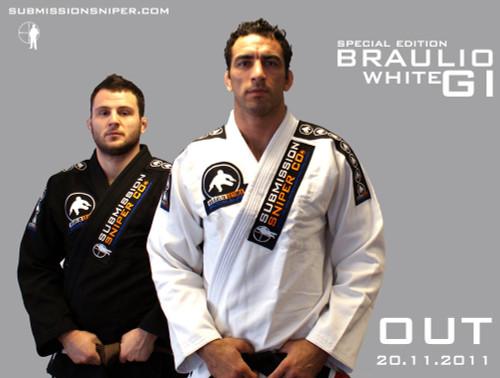 Braulio Estima Special Edition Bjj GI, White
