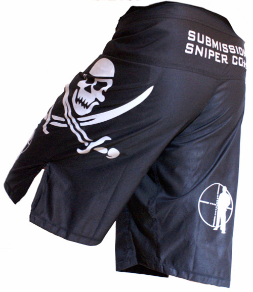 """Jolly Raider"" Submission Sniper BJJ, MMA Shorts"