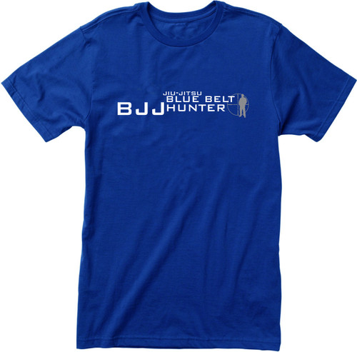BJJ  Belt Hunter Jiu-Jitsu T-shirts (Blue, Purple, Black)