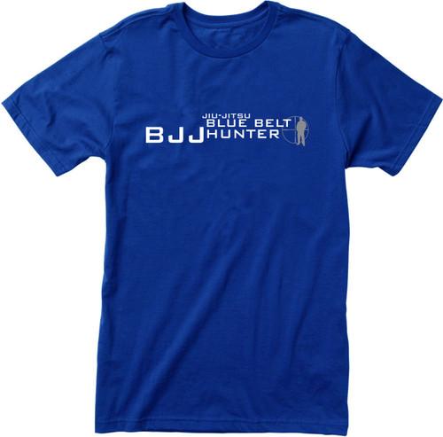 BJJ  Belt Hunter Jiu-Jitsu T-shirts (Blue, Purple, Black)