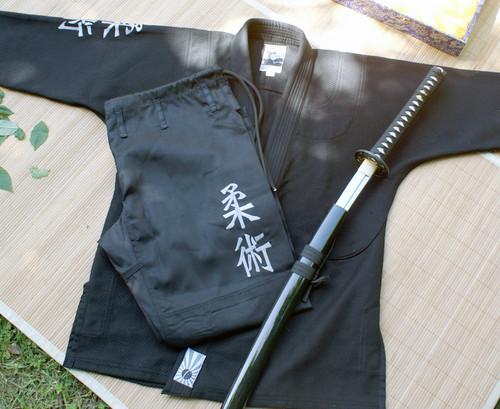Jiu-Jitsu Kanji Samurai, BJJ Gi, Ju Jitsu Gi, Kimono