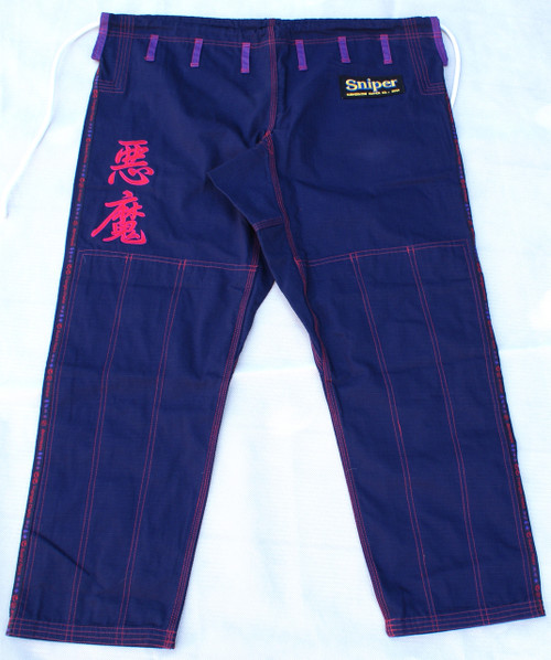 """The Gouki GI Pants""  Great Demon, Akuma,  Street Fighter character esque BJJ GI"