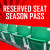 Reserved Seating Season Pass