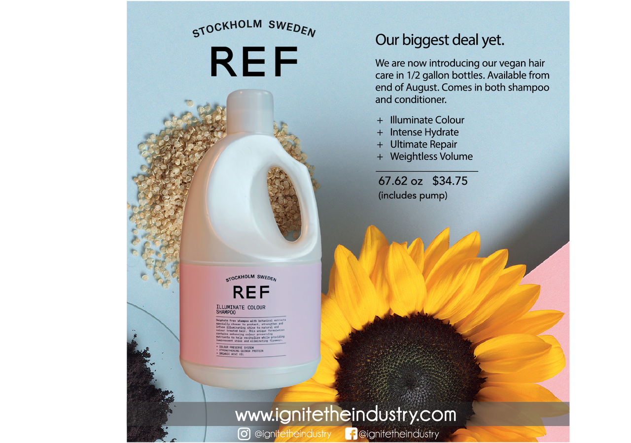 Ref Weightless Volume Shampoo 1 2 Gallon With Pump Ignite The Industry