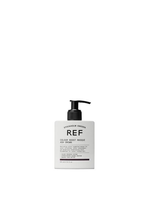 REF Color Boost Masque- Ash Brown