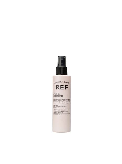 CARE  Weightless conditioning spray with botanical extracts specially chosen to protect, strengthen and detangle damaged or colour treated hair.  + COLOUR PRESERVE SYSTEM + STRENGTHENING QUINOA PROTEIN + ORGANIC MARULA OIL  175 ml/5.91 fl.oz.  CRUELTY FREE 100% VEGAN