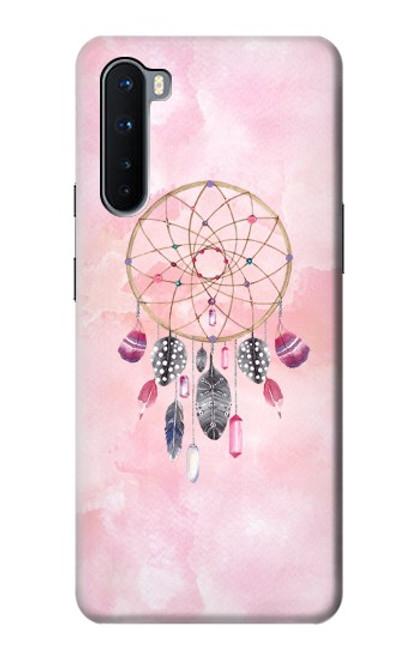 S3094 Peinture Dreamcatcher Aquarelle Etui Coque Housse pour OnePlus Nord
