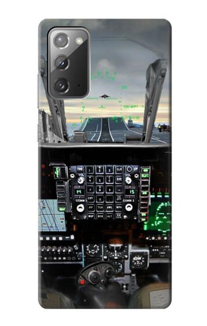 S2435 Fighter Jet Aircraft Cockpit Etui Coque Housse pour Samsung ...