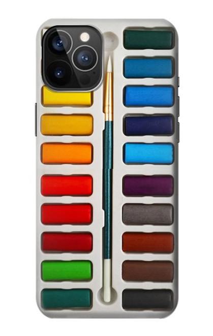 S3243 Ensemble de peinture aquarelle Etui Coque Housse pour iPhone 12, iPhone 12 Pro